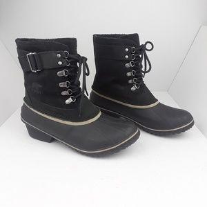 Sorel | Winter Fancy II Winter Boots Black Silver